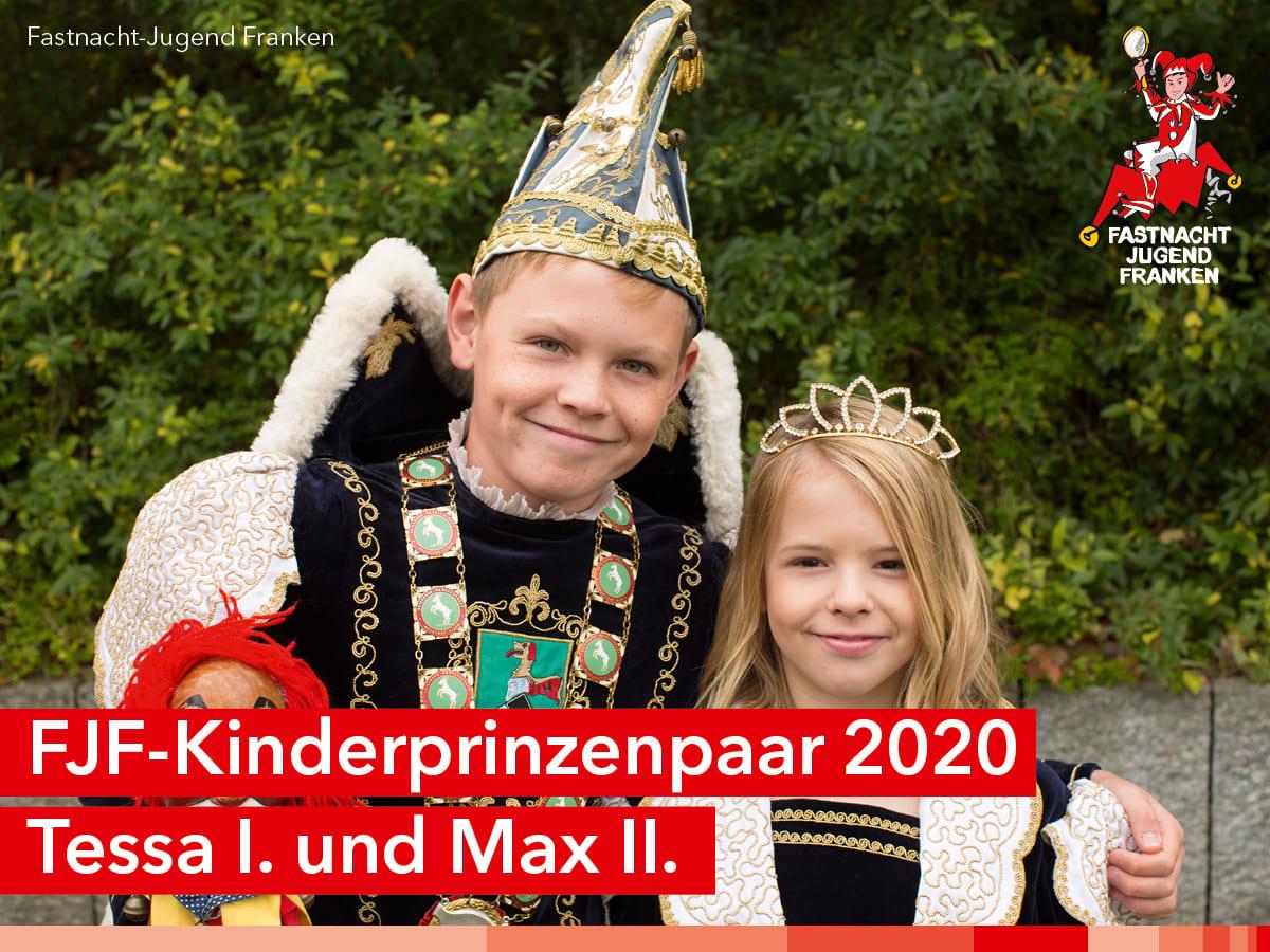FJF-Kinderprinzenpaar 2020